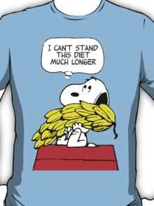 Snoopy Diet T-Shirt