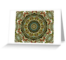 Exotic Glass Greeting Card
