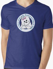 Life circle Coton de Tulear - The wondrous world of the Coton de Tulear Mens V-Neck T-Shirt