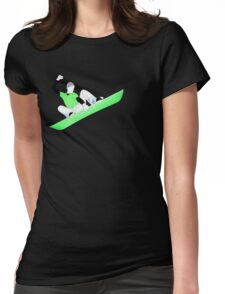 snowcore. Womens Fitted T-Shirt