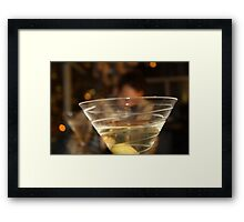 Who's Drunk Framed Print