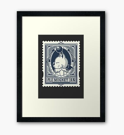 Mognet Mail (2C Version) Framed Print