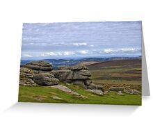 View from Haytor, Dartmoor, Devon Greeting Card