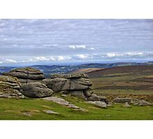 View from Haytor, Dartmoor, Devon Photographic Print