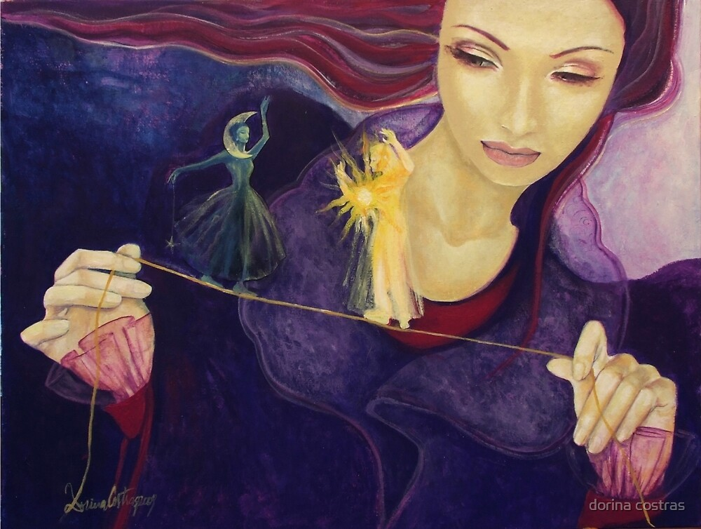 """Pendency - from """"Impossible love"""" series by dorina costras"""