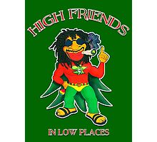 High Friends - Low Places Photographic Print