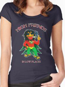 High Friends - Low Places Women's Fitted Scoop T-Shirt