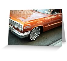 5th Ave Auto Greeting Card