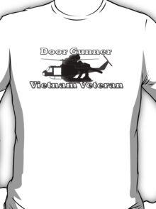 Door Gunner - Vietnam Veteran T-Shirt