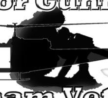 Door Gunner - Vietnam Veteran Sticker
