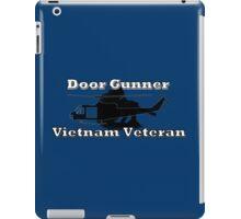 Door Gunner - Vietnam Veteran iPad Case/Skin
