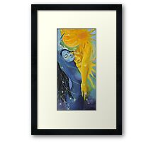 "Illusion from ""Impossible love"" series Framed Print"
