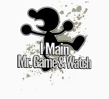 I Main Mr. Game & Watch - Super Smash Bros. Unisex T-Shirt