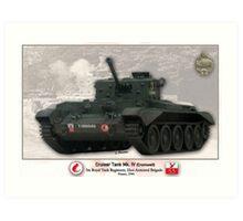 Tank Cruiser Mk. IV (Cromwell) Art Print