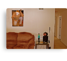 Beware Of Michael Myers Canvas Print
