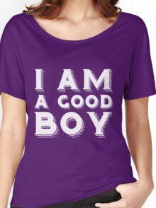 I am a good boy Women's Relaxed Fit T-Shirt