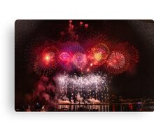 Sparking Stars Canvas Print