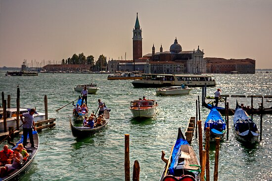 Giudecca Canal by Tom Gomez
