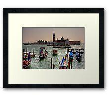 Giudecca Canal Framed Print