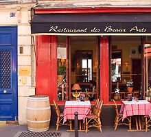 Restaurant in Paris by Christine Anna Wilson