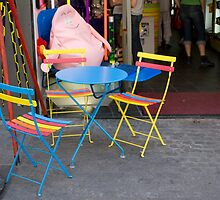 Happy Chairs in Paris by Christine Wilson