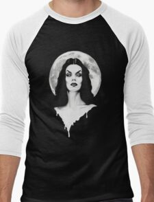 Vampira Men's Baseball ¾ T-Shirt