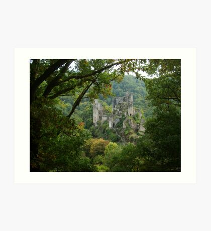 View of a Fairytale Art Print