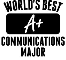 World's Best Communications Major by GiftIdea