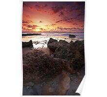 Dark Sunset, Lombok Indonesia Poster