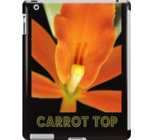 Carrot Top iPad Case/Skin