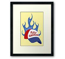 Foxy Grandpa Framed Print