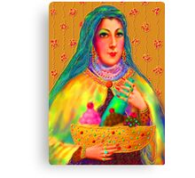 'Hollywood Mother Pelosi Passing Out Alms To The Poor' or 'Let Them Eat Cake' Canvas Print