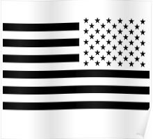 inverted american flag Poster
