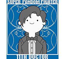 Super Fandom Fighter - 11th Doctor Photographic Print