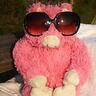 Fun in the Sun Pink Pig by stumbelina
