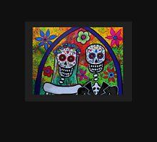 Dia De Los Muertos Skeleton Bride & Groom Unisex T-Shirt