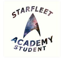 Starfleet Academy Student Art Print