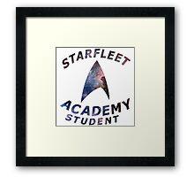 Starfleet Academy Student Framed Print