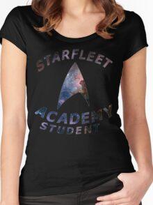 Starfleet Academy Student Women's Fitted Scoop T-Shirt