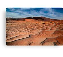 Sand waves  Canvas Print