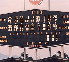 Dodger Stadium Scoreboard by DamienGarth