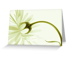 artless Greeting Card