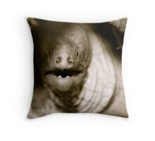 Moray Portrait Throw Pillow