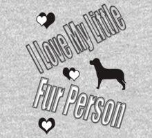 I Love My Little Fur Person (Dog) by CarolM