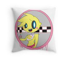 Kawaii Toy Chica Throw Pillow