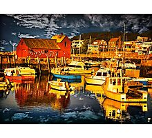 Bearskin Neck, Rockport Photographic Print