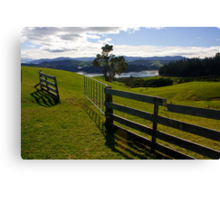 The Open Gate Canvas Print