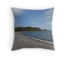 Llandudno Beach, Wales Throw Pillow
