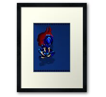 Monster Arm Framed Print