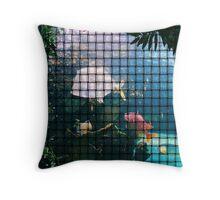 Aquarium Weave Throw Pillow